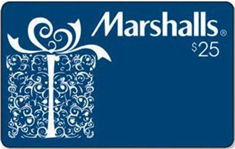 Marshals Gift Card - marshalls gift card 25 philadelphia university bookstore