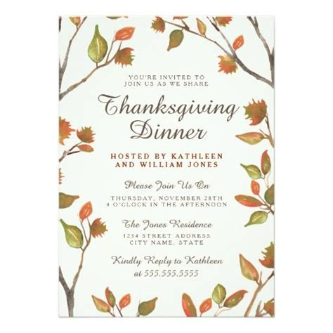 Thanksgiving Invitation Card Template by 255 Best Thanksgiving Invitations Images On