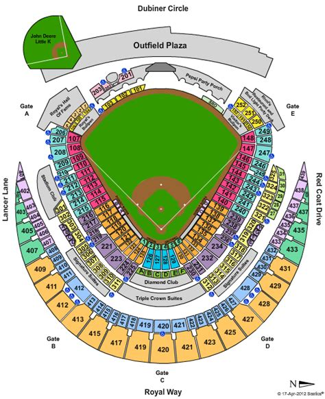 kauffman stadium map kansas city royals tickets discount coupon code