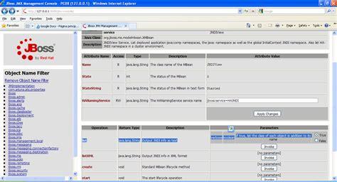 jmx console el jndi view datastore en jboss eap 5 0 jmx console y