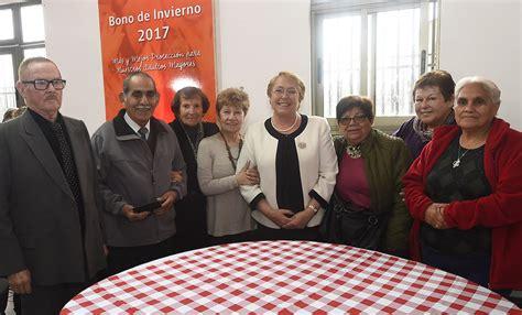 bono invierno bonos del gobierno de chile informacion m 225 s de 1 mill 243 n 100 mil pensionadas y pensionados ser 225 n