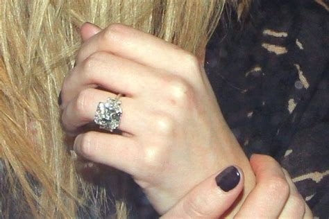 more pics of hilary duff engagement ring 2 of 11