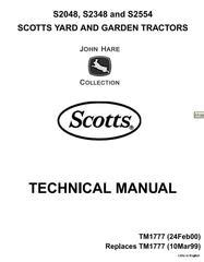 Scotts Yard And Garden Tractors Diagnostic Tests