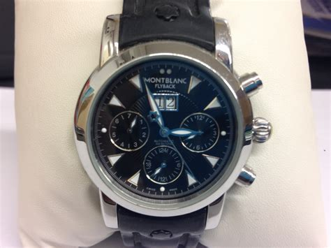 Montblanc Flyback Leather Bw For mont blanc flyback original