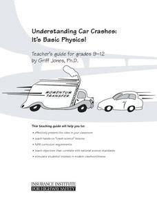 Understanding Car Crashes It S Basic Physics Worksheet Answer Key basketball elementary lesson plans worksheets reviewed