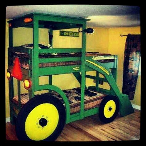 john deere bunk beds tractor bed such a cute idea kids a long time away