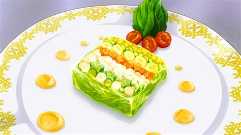 9 vegetables terrine nine vegetable terrine shokugeki no soma wiki fandom