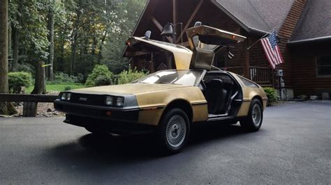 Gold Plated Cars For Sale by Buy This Strange Gold Plated Delorean One Of Just Five