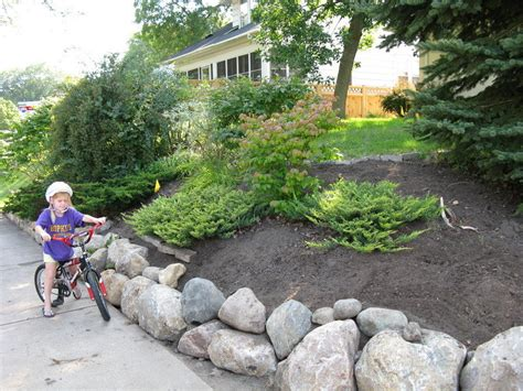 landscaping photo of quot slope rock garden quot posted by ms