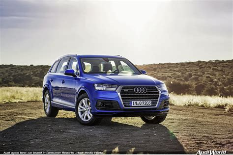 which audi is the best audi again best car brand in consumer reports audiworld