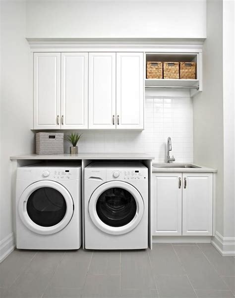laundry sink layout white modern laundry room features raised panel cabinets