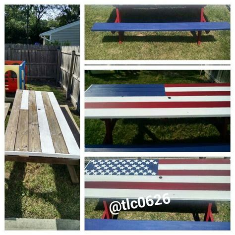 cool painted picnic tables 25 best ideas about wooden picnic tables on