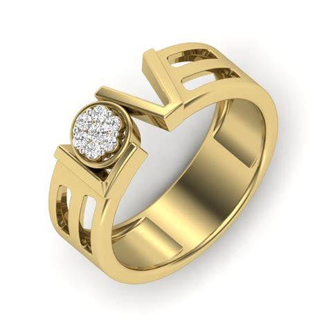 gold fashion rings for images