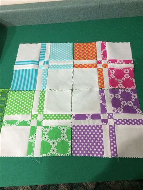 Twisted Nine Patch Quilt Pattern Free by 17 B 228 Sta Bilder Om Disappearing 4 9 Patch P 229