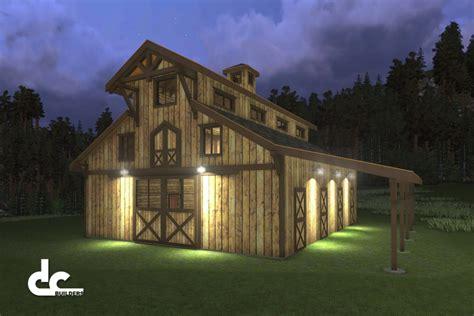 home living design quarter monitor barn plans with living quarters home design