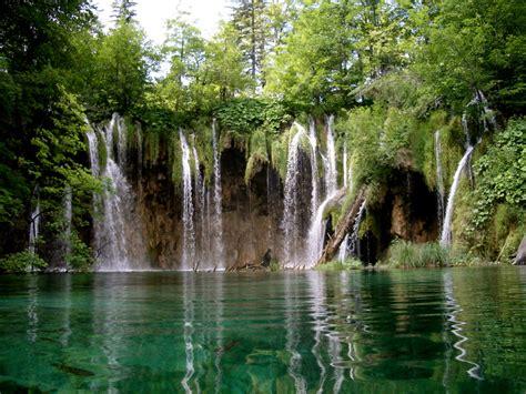home beauty travelling place lake plitvice national park croatia tour