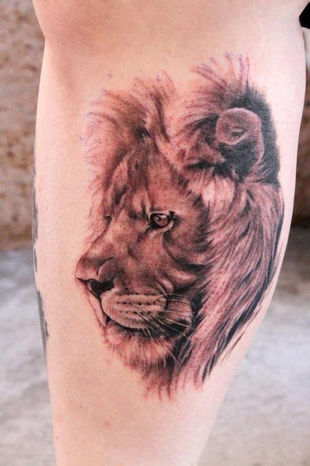 lion side tattoo best 25 tattoos ideas on
