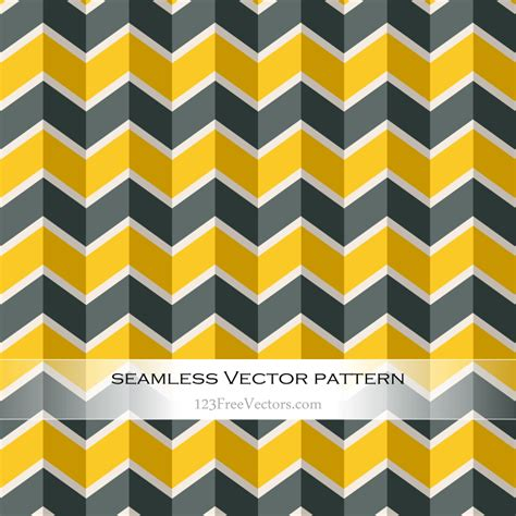 zigzag chevron pattern zigzag chevron seamless pattern graphics 123freevectors