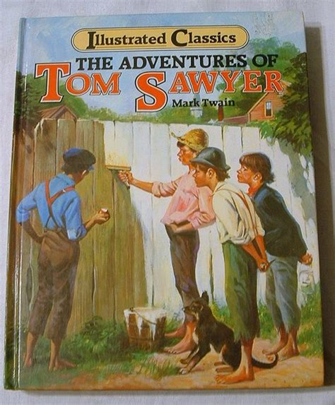 a whitewashed books the adventures of tom sawyer