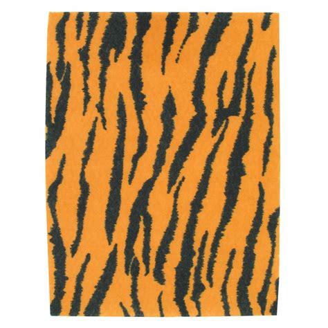 printable fabric sheets hobbycraft tiger print felt sheet a4 hobbycraft