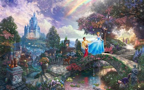 Disney Wallpaper Thomas Kinkade | thomas kinkade disney wallpapers wallpaper cave