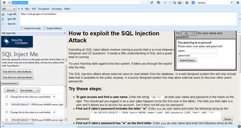hackbar tutorial xss how to learn sql injection decision stats