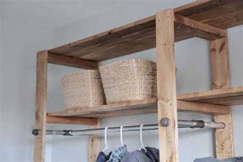 diy industrial style wood slat closet system with 17 best images about laundry room on pinterest washers
