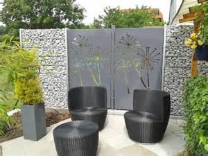 sichtschutz garten terrasse sichtschutz terrasse aus metall kreative ideen f 252 r ihr