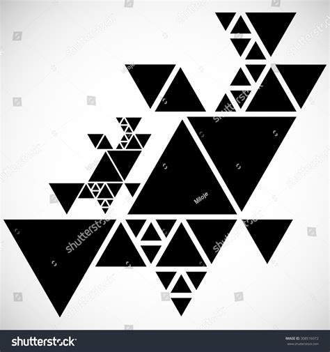 pattern hipster vector vector hipster triangle background pattern abstract stock
