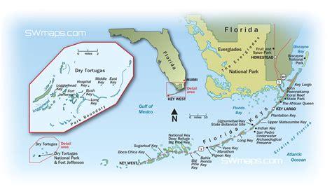 florida keys florida keys and dry tortugas map swmaps com