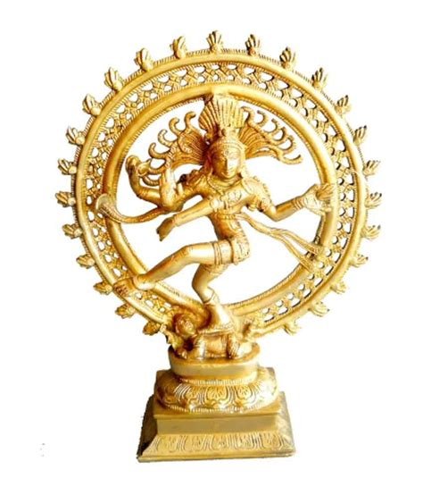 Brass Home Decor by Design View Natraj Statue Buy Design View Natraj Statue