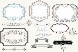 vintage label template vintage labels free vector in adobe illustrator ai ai