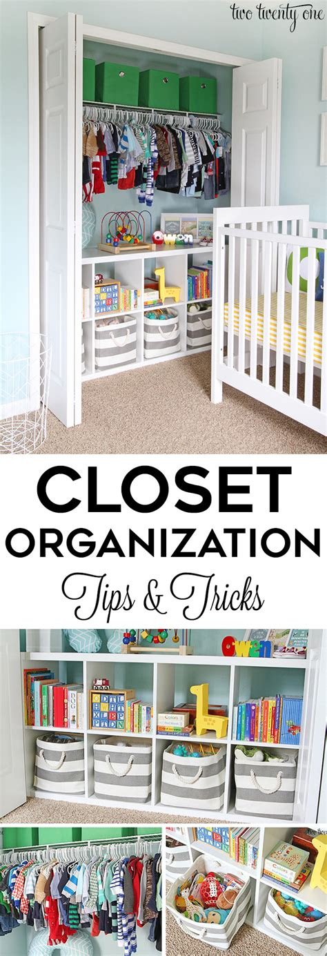 Closet Tips And Tricks by Nursery Closet