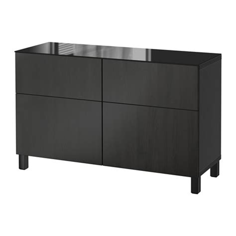 Besta Kommode Ikea by Best 197 Storage Combination With Drawers Lappviken Black