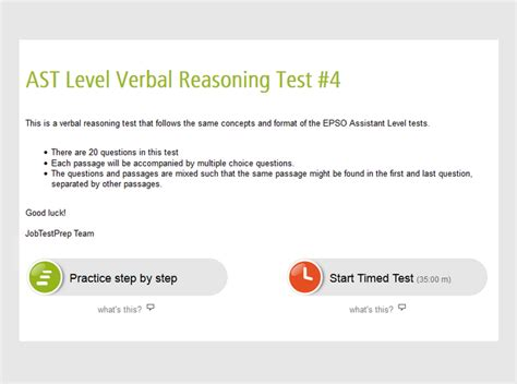 epso test epso ast verbal reasoning test assistant level test