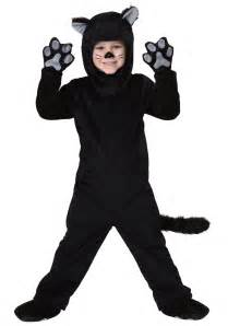 black cat halloween costumes toddler little black cat costume