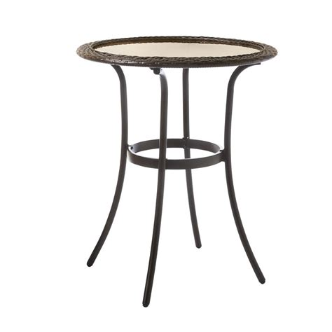 mix table outdoor side tables patio tables the home depot