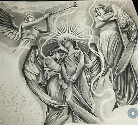 chicano angel tattoos www pixshark com images
