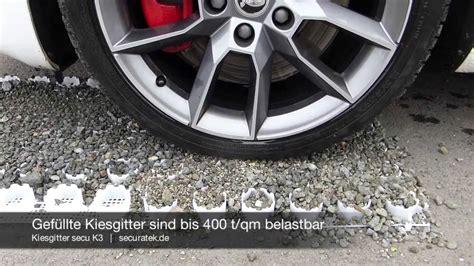 Einfahrt Mit Kies Anlegen by Kiesgitter Secu K3 Bodenwabe Zur Stabilisierung Kies
