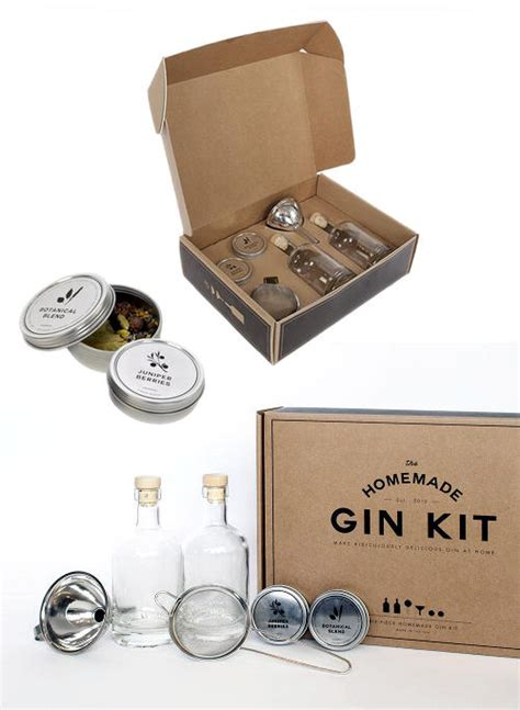 diy kits diy gin recipe dishmaps