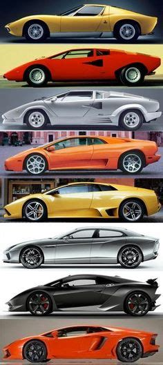History Of Lamborghini Cars 1000 Images About Amazing Cars Motos On