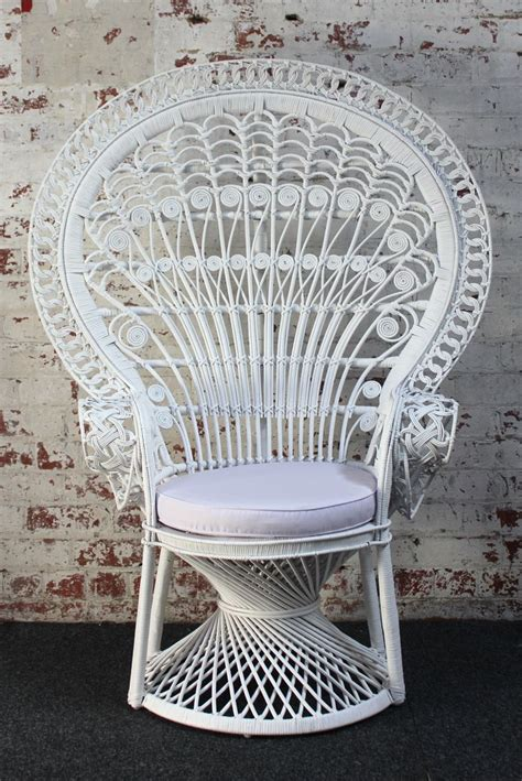 peacock armchair b h bohemian bohemian influence pinterest white