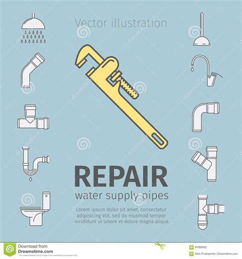 Plumbing Repair Prices by Repair Plumbing Work Plumbing Systems Plumber Tool