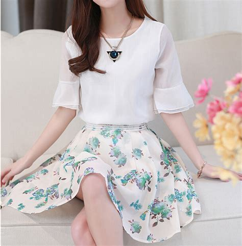 954 Brukat Korean Set Cloth korean big size summer suit clothing 2 set