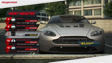 Schnellstes Auto Nfs Most Wanted 2 by Benchmarkcheck Need For Speed Most Wanted Notebookcheck