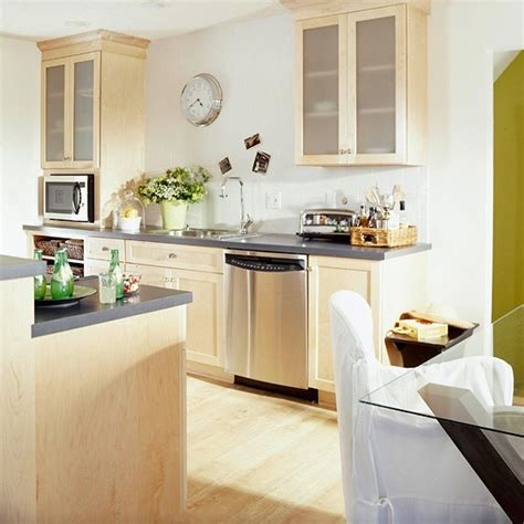 Light Birch Kitchen Cabinets Before And After Kitchens Grey Countertops Countertops