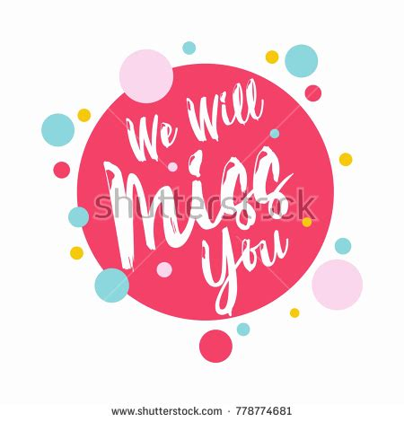 we miss you card template farewell stock images royalty free images vectors