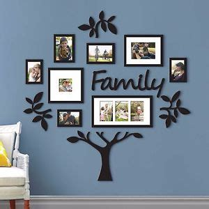 family photo wall decor family tree frame collage pictures frames multi photo