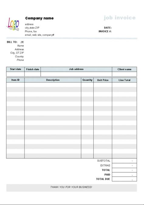 download lawn mowing invoice template free rabitah net