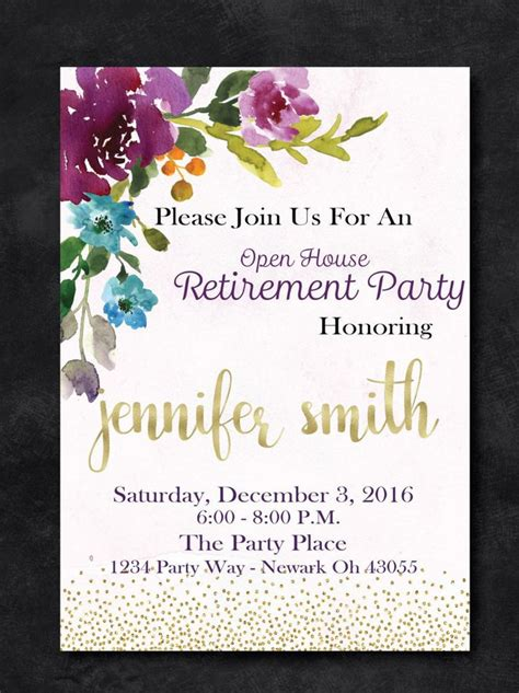 free printable retirement stationary 1000 ideas about retirement invitations on pinterest